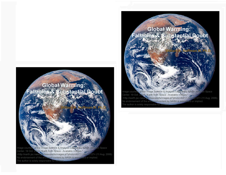 Global Warming: Fallacies and Substantial Doubt DVD Title